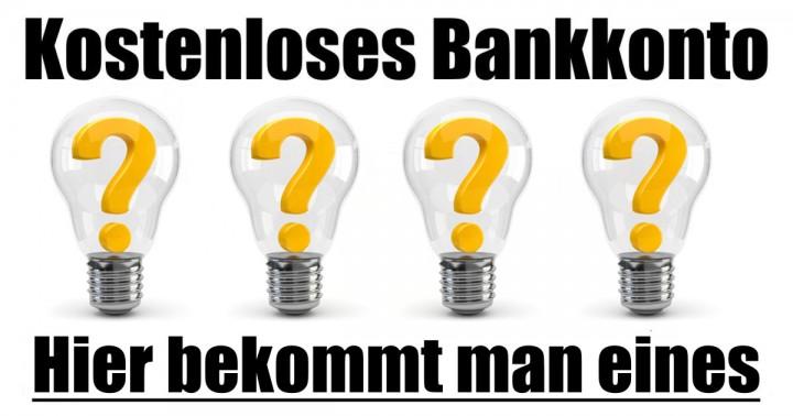 Kostenloses Bankkonto