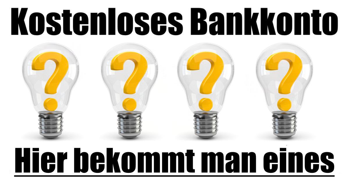 kostenloses Bankkonto trotz Schufa